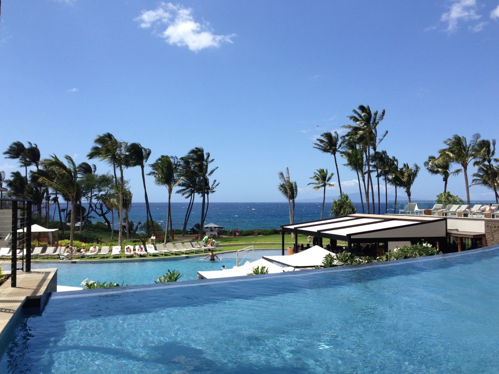 The Andaz at Wailea - beautiful pools and beaches