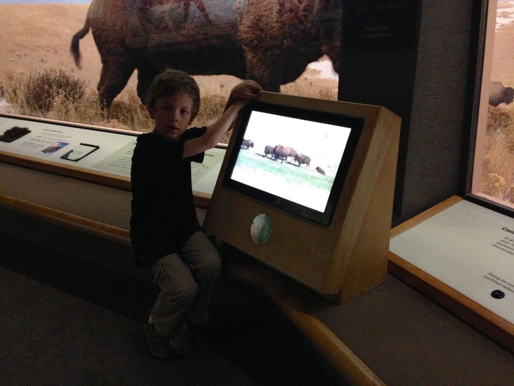 Jude at the Denver Museum of Nature and Science