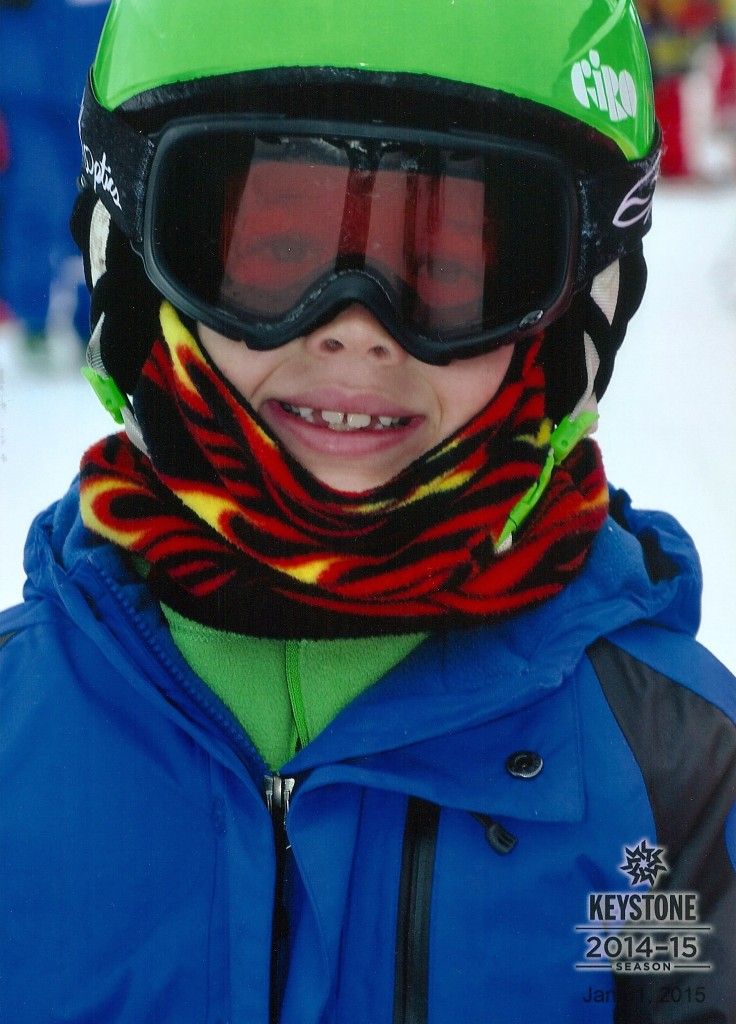 Jude's official ski school photo