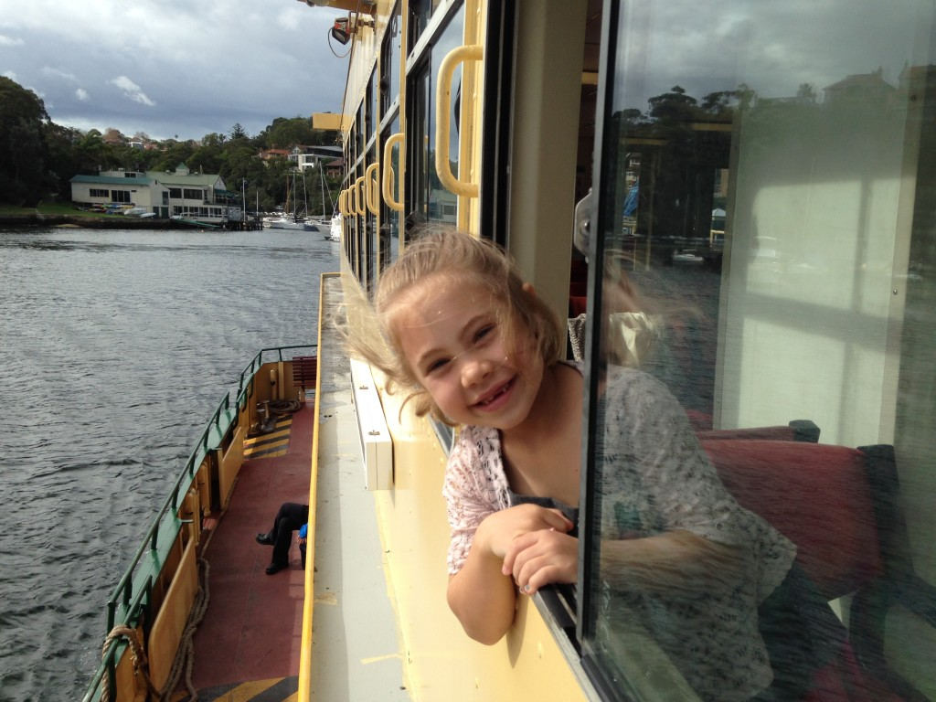 Recapturing an iconic photo from three years ago on the Cremorne ferry