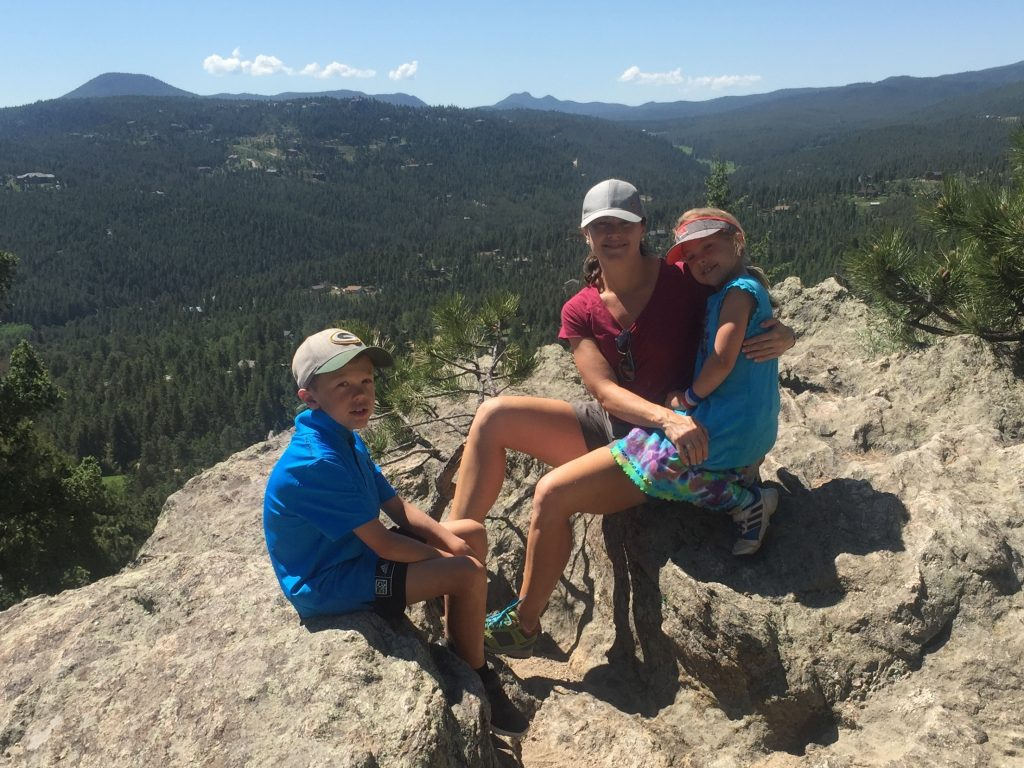 Hiking the Evergreen Mountain trail