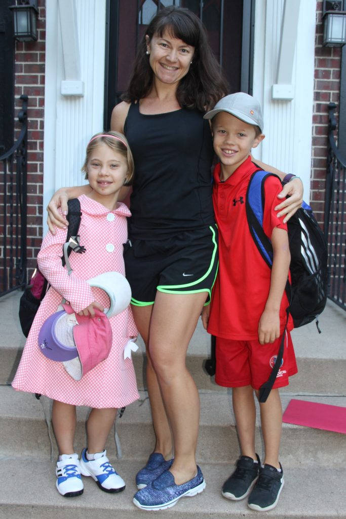 It was all smiles for the first day of school this week