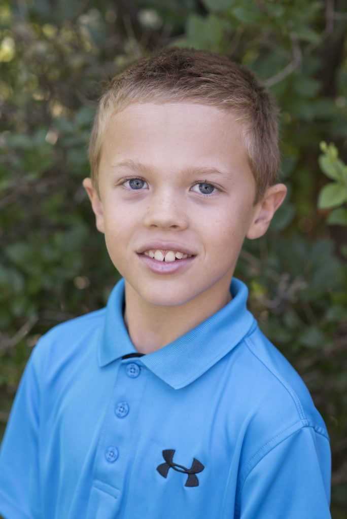 Jude's official school photo 2016-17 year