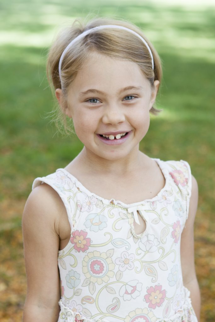 Anna's official school photo for 2016-17