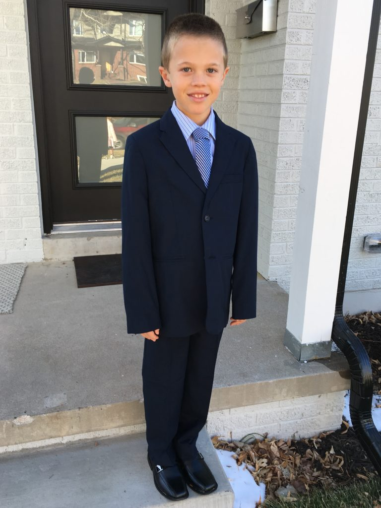 What a handsome young man all dressed up for Cotillion