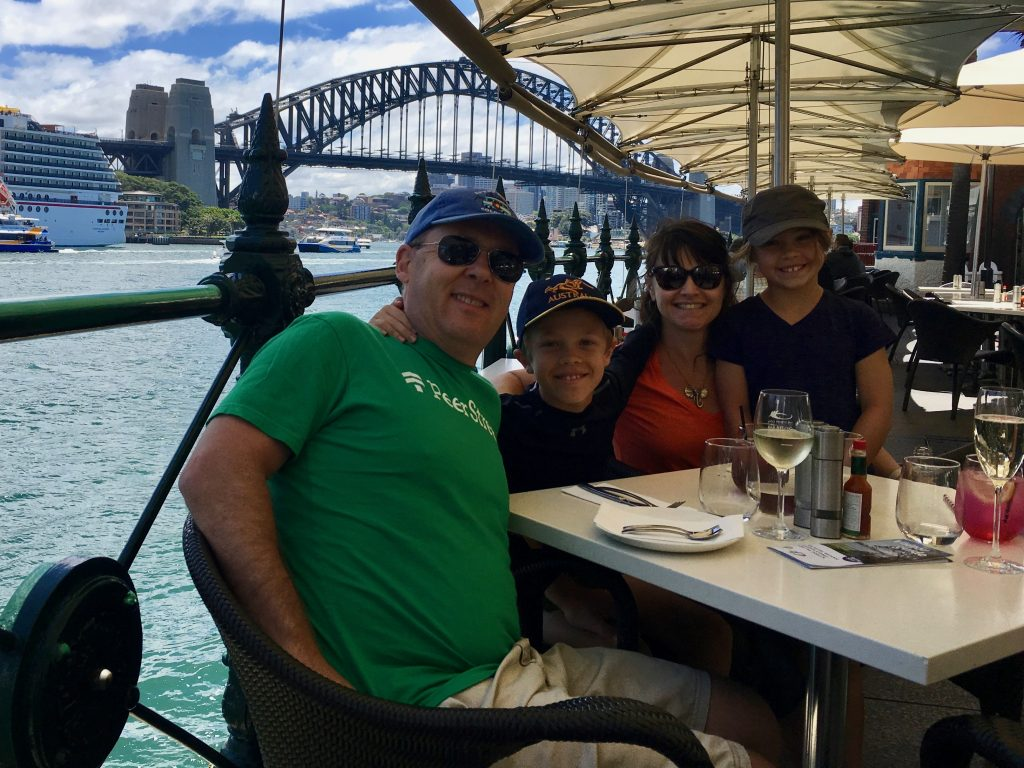 Lunch at the Sydney Oyster Bar